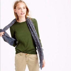 J. Crew Tippi Parsley Green Sweater
